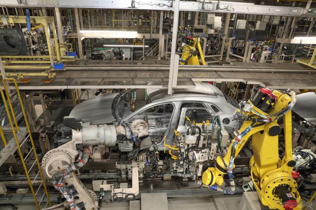 マツダの宇品第一工場(CX-30生産ライン)《写真提供 マツダ》