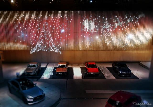 クリスマスデコレーション I2Vスポット《写真提供 日産自動車》