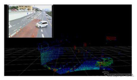 パイオニア、3D-LiDARを活用した「交差点監視システム」の検証を実施