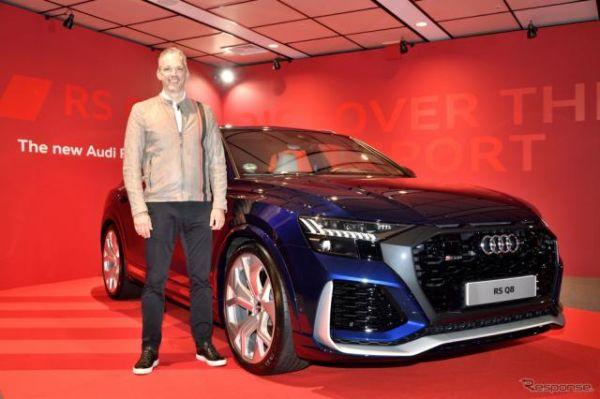 アウディ、ハイパフォーマンスモデル「RS」シリーズ 3車種発表…SUPER GT会場で