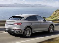 アウディ SQ5スポーツバック、ターボと電動コンプレッサーで341馬力…欧州発表