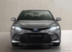 トヨタ カムリ・ハイブリッド に改良新型、表情変化…今秋西欧発売