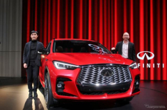 【インフィニティ QX55】初代FXのスピリットを表現したデザイン…新型SUVクーペ