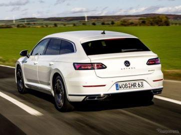 VW アルテオン に初のPHV、シューティングブレークにも設定…受注を欧州で開始