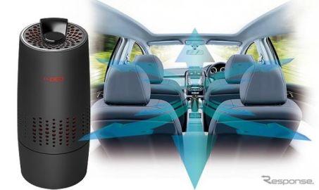 カーメイト、最強・最速の「ドクターデオ」発売…通常の6倍で車内を除菌・消臭