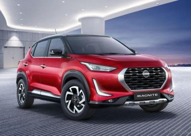 日産の新グローバル小型SUV、『マグナイト』…予約受注をインドで開始