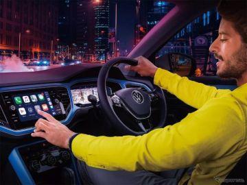VW Tロック/Tクロス、常時コネクティッドの新世代インフォテイメント搭載