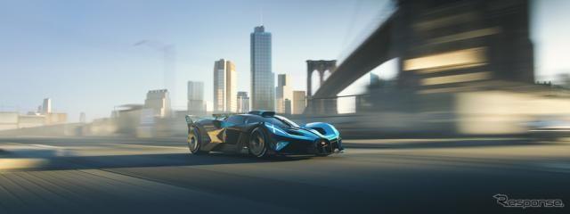 ブガッティのサーキット専用ハイパーカー『ボリード』、仮想ドライブが可能に…ジンガCSR2で