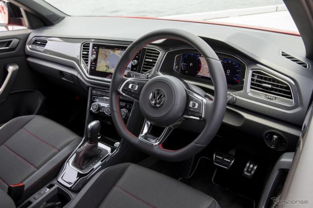 VW Tロック(写真)、Tクロスを皮切りに導入《画像提供 フォルクスワーゲングループジャパン》