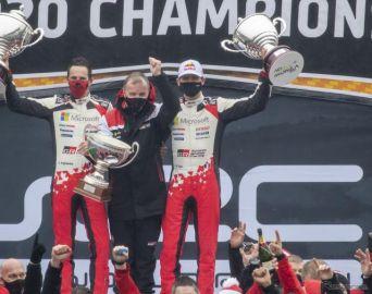 【WRC 最終戦】トヨタのセバスチャン・オジェ、自身2年ぶり7度目の王座獲得…勝田貴元が初のステージ1位ゲット