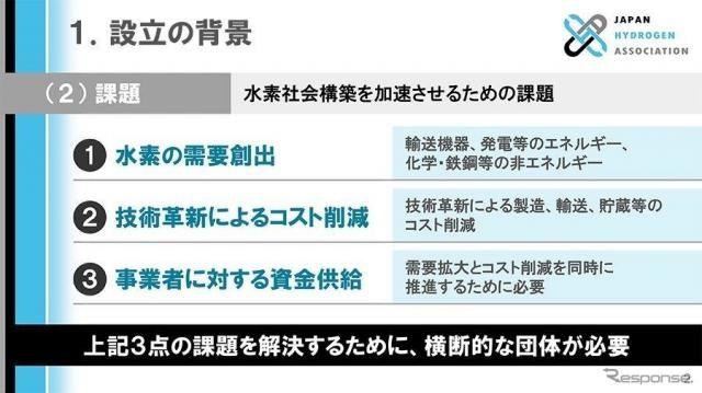 トヨタ 内山田会長「本格的な社会実装を推進」…88社が水素バリューチェーン推進協議会を設立