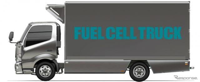トヨタと日野、コンビニ3社とFC小型トラックの導入を目指した取り組みを開始