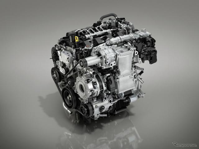 新世代ガソリンエンジン「SKYACTIV-X」《写真提供 マツダ》
