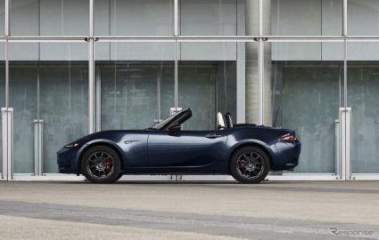 マツダ ロードスター、ホワイトインテリアを新設定…「RS」ベースの期間限定モデルも発売