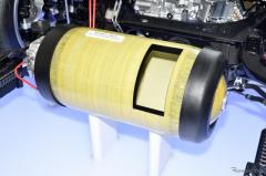 【トヨタ MIRAI 新型】豊田合成、高圧水素タンク生産開始 航続距離延長のキーパーツ