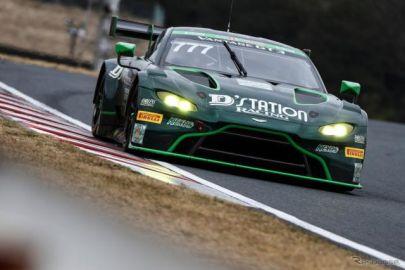 【スーパー耐久 第5戦】777号車D'station Vantage GT3が予選ポール、オートポリスでも速さみせる