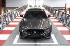 マセラティ レヴァンテ トロフェオ、限定モデル「トリコローレ」発売…イタリア国旗をモチーフ