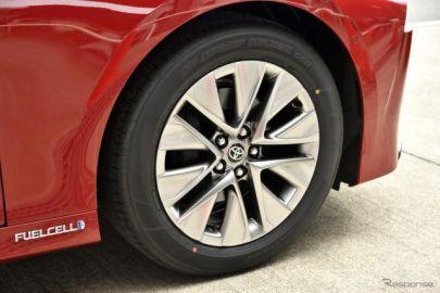 【トヨタ MIRAI 新型】ダンロップ SP SPORT MAXX 050およびファルケン AZENIS FK510を新車装着