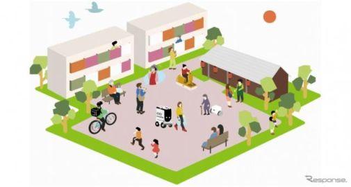集合住宅で共助型モビリティサービス パナソニックとUR都市機構が実証実験を開始
