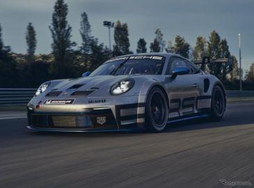 ポルシェ 911 新型に初のレーサー、ターボボディに510馬力フラット6搭載…「GT3カップ」発表