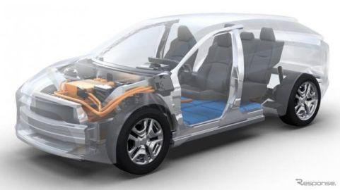 スバルが欧州に新型EV、フォレスタークラスの中型SUV…トヨタと車台を共有