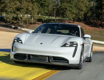 ポルシェ『タイカン』、量産EVの最速ラップタイム…米ロードアトランタ