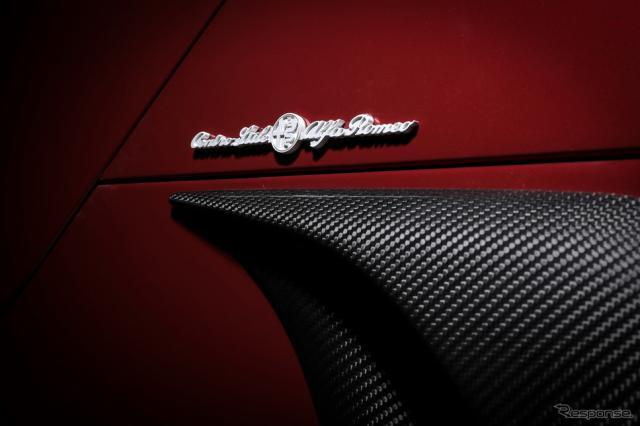 アルファロメオ 4C スパイダー 33ストラダーレ・トリビュート《photo by Alfa Romeo》