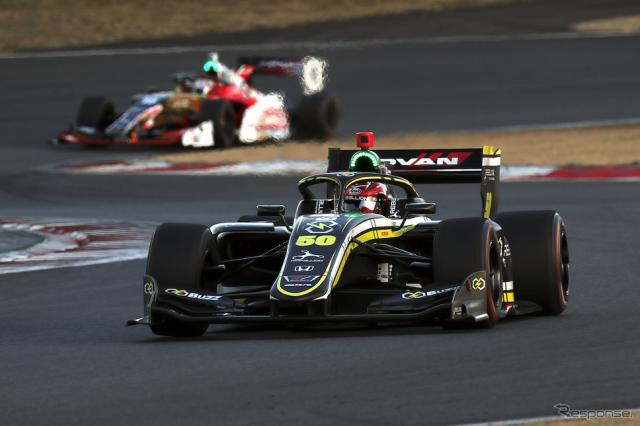 3位の#50 松下信治(Buzz Racing with B-Max)《撮影 竹内英士》