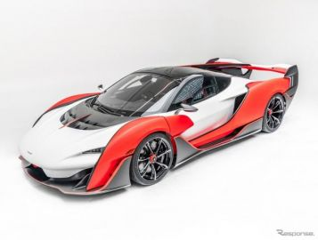 マクラーレンの特注ハイパーカー、835馬力の『セイバー』発表…米国限定15台