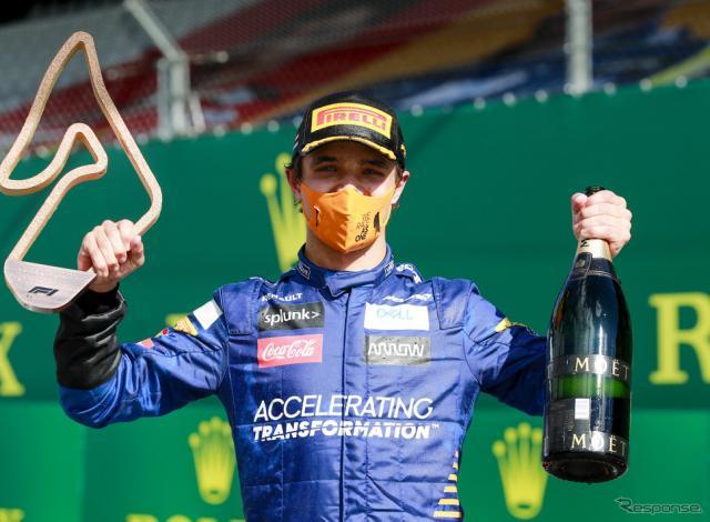 ランド・ノリス(2020年F1オーストリアGP)《写真提供 Pirelli》