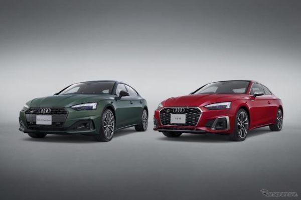 アウディ A5シリーズ 改良新型発売、内外装を大幅アップデート 価格は616万円より