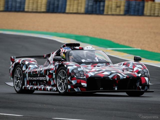 トヨタの新型ハイパーカー「GR スーパースポーツ」(仮称)のプロトタイプ《photo by Toyota》