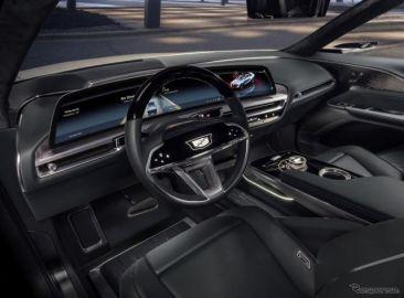 キャデラック、次世代の33インチ車載ディスプレイ発表…CES 2021