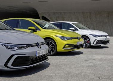 VW ゴルフ が欧州最量販車に、全体の3分の1がハイブリッド 2020年
