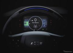 シボレー ボルト 派生の電動SUV、新開発ステアリングホイールは部分自動運転に対応…CES 2021
