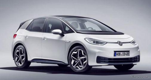 VW乗用車の電動車世界販売158%増、新世代EV『ID.3』が貢献 2020年