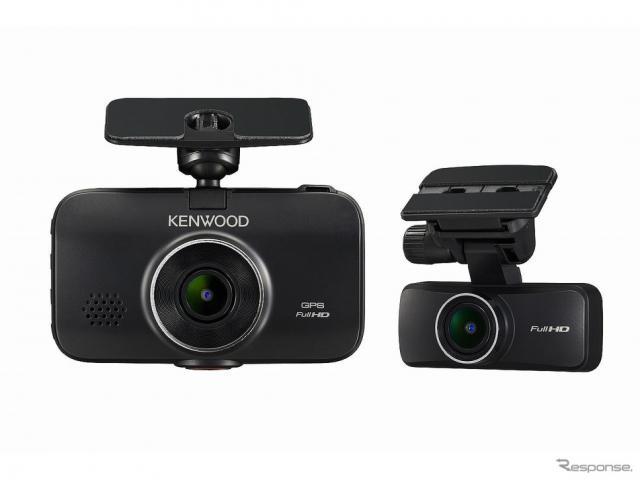 前後撮影対応2カメラドライブレコーダー DRV-MR760D《画像提供 JVCケンウッド》
