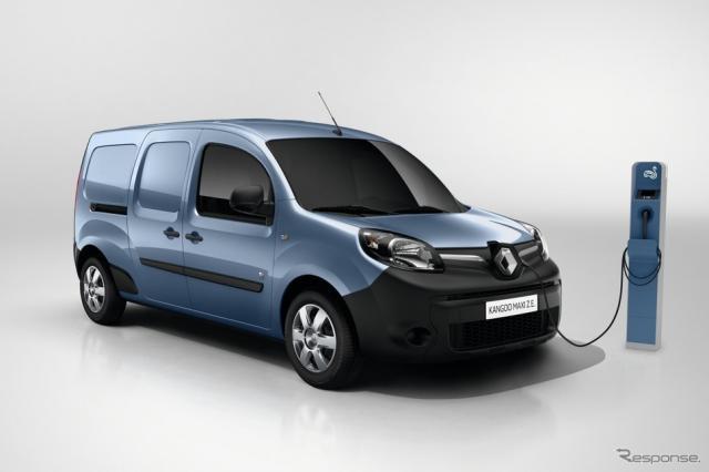 ルノー・カングー Z.E.《photo by Renault》