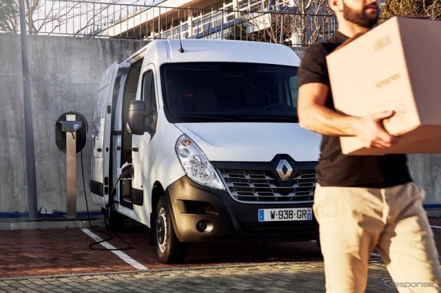 ルノー・マスターZ.E.《photo by Renault》