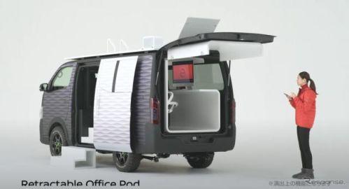 日産では NV350キャラバン のオフィス仕様に注目、ノート カスタムやキックス オーテックも展示…東京オートサロン2021