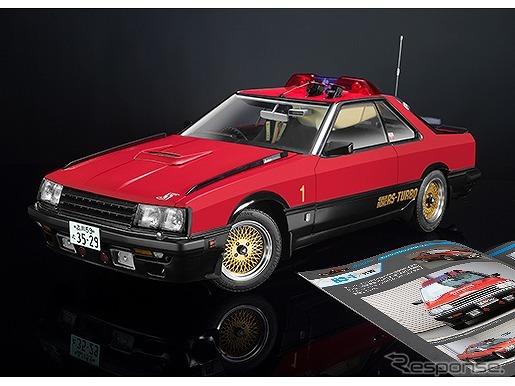 週刊『西部警察 MACHINE RS-1 ダイキャストギミックモデルをつくる』《写真提供 アシェット・コレクションズ・ジャパン》