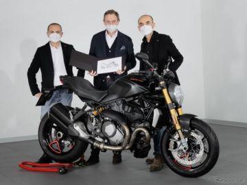 ドゥカティの最量販モデル『モンスター』、生産35万台…約30年で達成