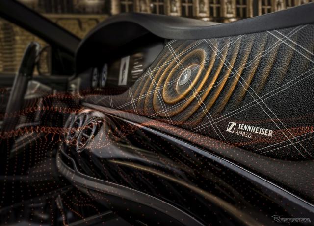 コンチネンタルのスピーカーレスサウンドシステ「Ac2atedSound」《photo by Continental》