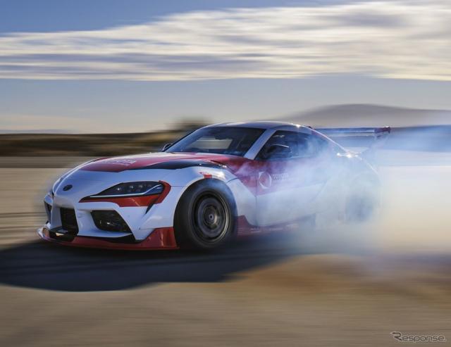 自動運転の スープラ でドリフト…トヨタが安全技術を研究中《photo by Toyota》