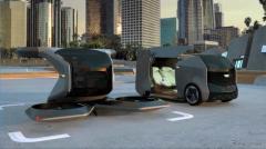 GMが「空飛ぶクルマ」のコンセプトCGを発表、電動化の一環…CES 2021