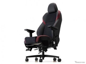 外した純正シートをキャスターチェアに、スバル WRX 用発売 ブリッド