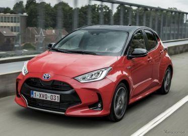 トヨタ欧州販売は ヤリス が最量販車、乗用車シェア3位に貢献 2020年