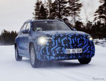 メルセデスベンツの新型EV『EQA』、間もなく発表…ティザー