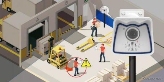 コニカミノルタの画像技術、フォークリフト事故低減…MS&ADグループと協同でサービス開発