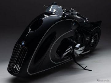 BMWの新型バイク『R18』に巨大カウル、「アールデコ」がテーマ…ワンオフカスタム